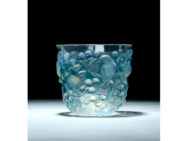 A Lalique 'Avallon' vase