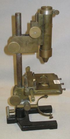 A laboratory compound monocular microscope, 20th century, (3)