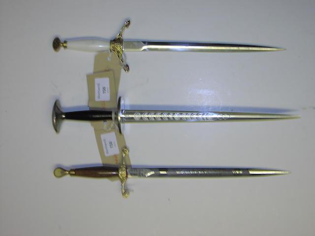 A copy of a Rondel dagger,