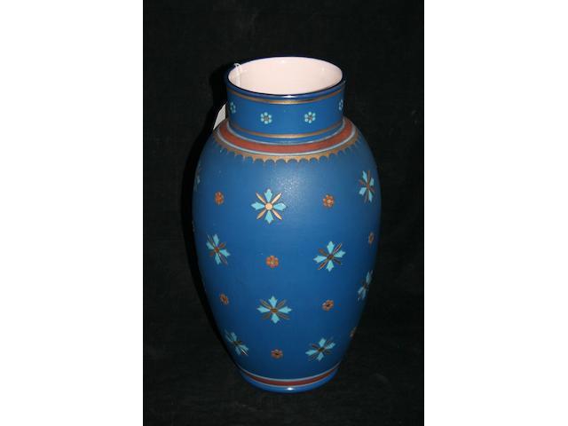 A Mettlach vase, circa 1890