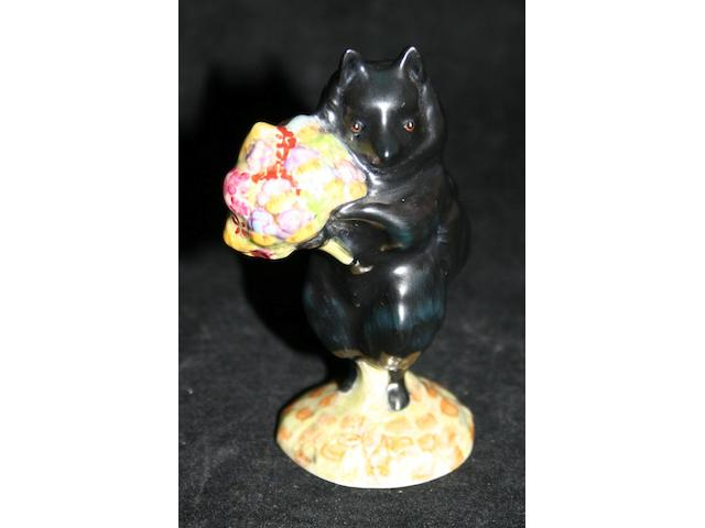 Beatrix Potter Duchess with Flowers; A rare Beswick Beatrix Potter figure