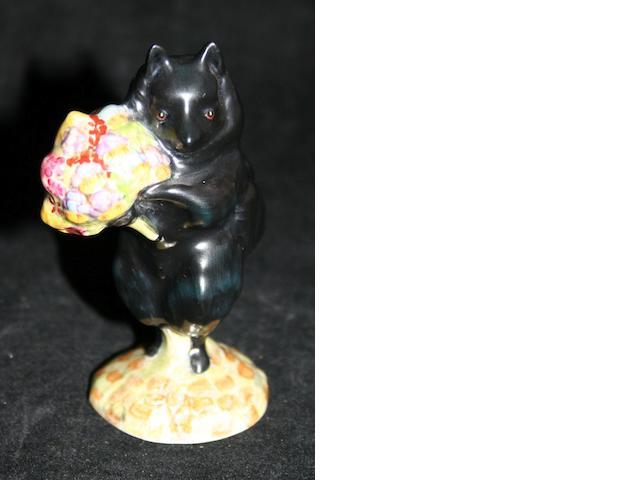 Beatrix Potter Duchess with Flowers; A rare Beswick Beatrix Potter figure