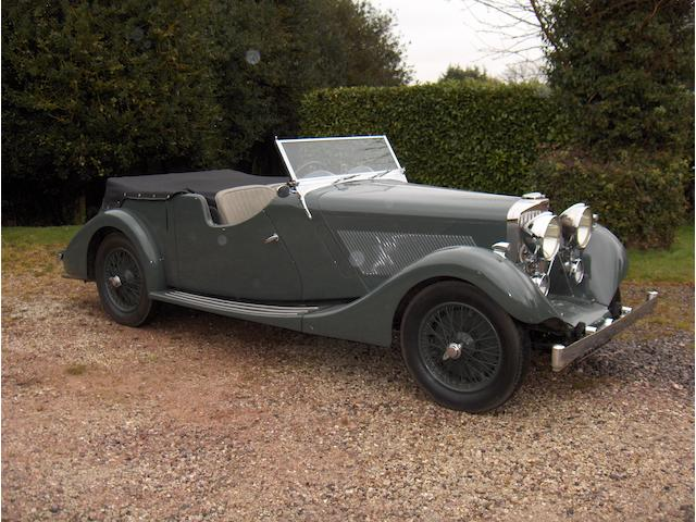 Property of a Deceased Estate,1937 Talbot BI 105 Speed Tourer  Chassis no. 4096 Engine no. 91