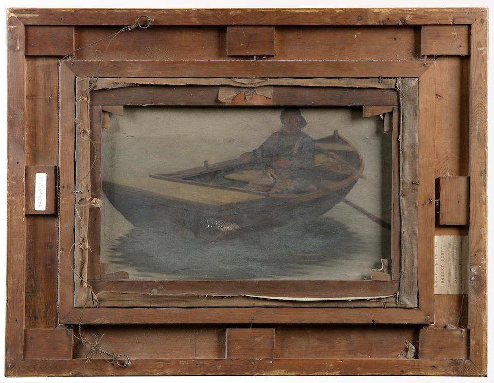 Robert McGregor RSA (1847-1922) An old salt (c1885) 61 x 41cm (24 x 16ins)