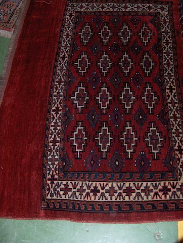 A Tekke chuval West Turkestan, 80cm x 122cm
