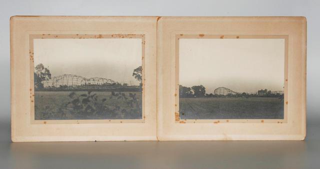 Photographs of a Zeppelin