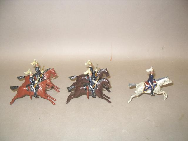Britains set 106, 6th Dragoon Guards  5