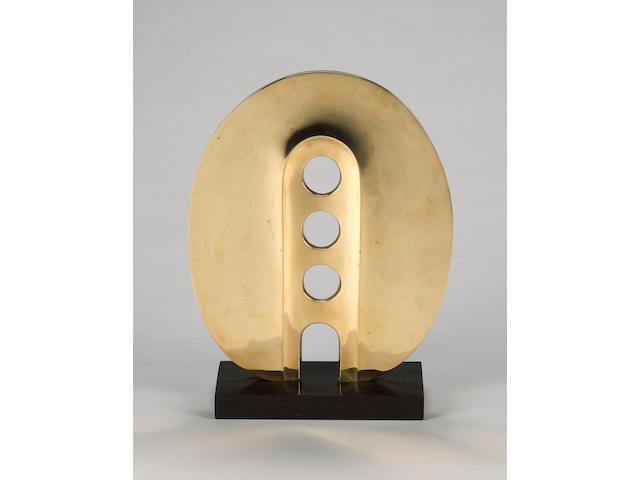 Denis Mitchel (British, 1912-1993) 'Solaris' 41cm high (16in)(including base)