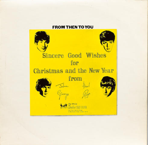'From Then To You', the Beatles Fan Club compilation Christmas album, 1970,