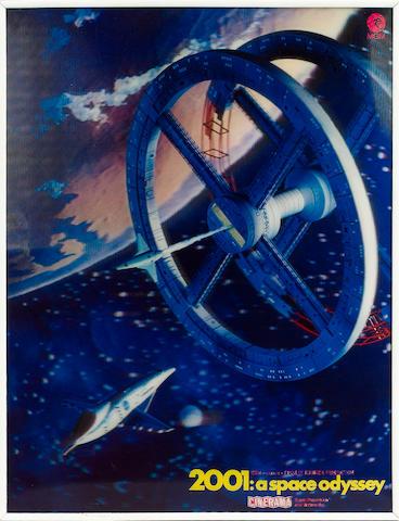 2001: A Space Odyssey, 1968,