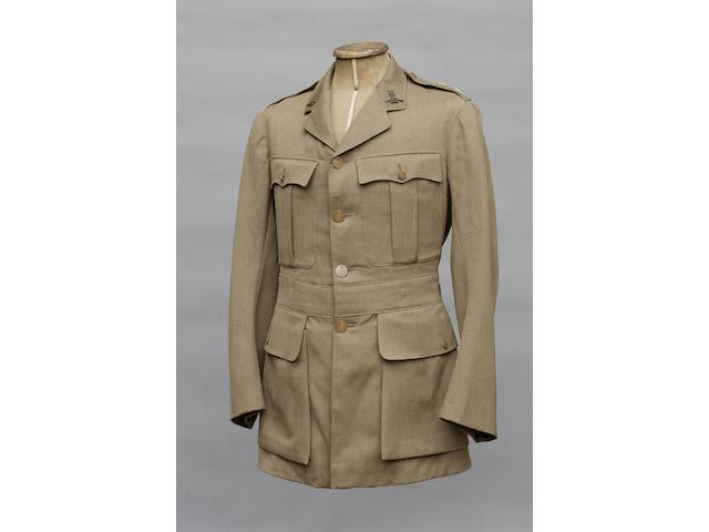 A Very Rare Bullet Proof service dress tunic