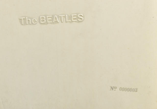 'The Beatles' (White Album) No.0000003, 1968,