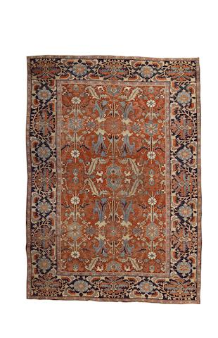 A Heriz carpet North West Persia, 11 ft 6 in x 8 ft 2 in (350 x 250 cm)