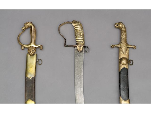 A Rare East India Company marine officers sabre