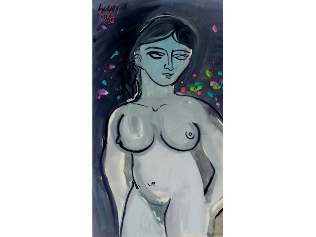 Francis Newton Souza (India, 1924-2002) Female nude