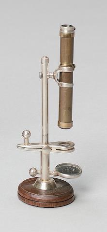 A small size microscope, 20th century,