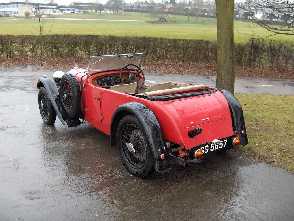 Property of a Deceased Estate,1932 Alvis Speed Twenty SA Tourer  Chassis no. To be advised
