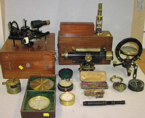 A collection of scientific and other instruments, various dates, (qty)