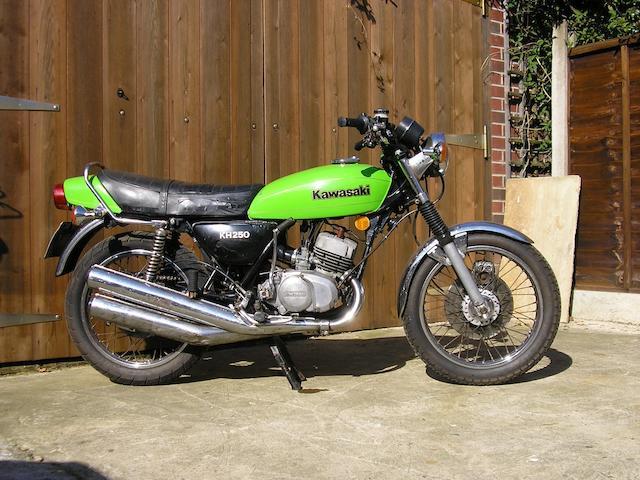 c.1978 Kawasaki KH250B  Frame no. KH250B 025058 Engine no. S1E 029593
