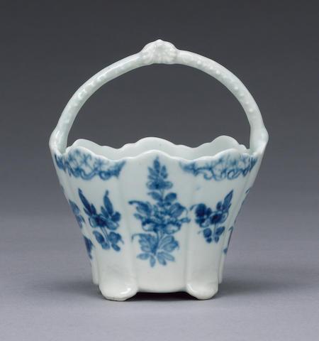 An important Lund's Bristol cream pail circa 1749-51