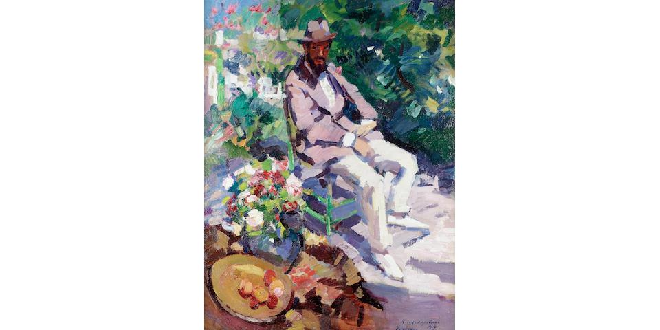 Konstantin Alexeevich Korovin, 1861-1939 Summer at Gurzuf 86.5 x 66 cm. (34 x 26 in.)