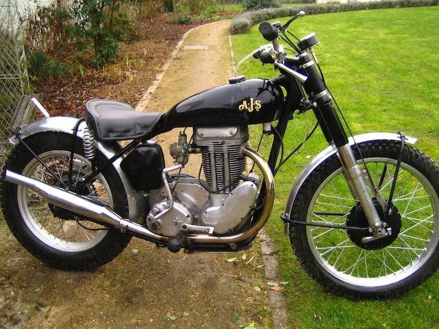 1953 AJS 350cc Trials Frame no. A4453 Engine no. 55G3L528241