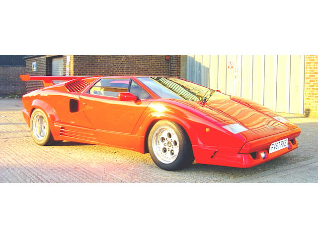 1988 Lamborghini Countach Anniversario 25th Coupé  Chassis no. KLA12462 Engine no. KLA12462