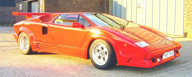 1988 Lamborghini Countach Anniversario 25th Coupé  Chassis no. KLA12462 Engine no. KLA12462
