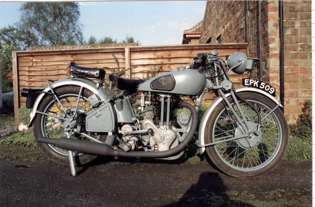 1936 Norton 500cc Special Order Model  Frame no. 73170 Engine no. 72073