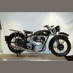 1938 Royal Enfield 1,140cc Model KX