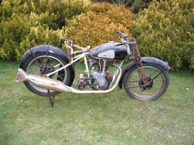 1938 Velocette 349cc MAC Frame no. MD 8296 Engine no. MAC 4844