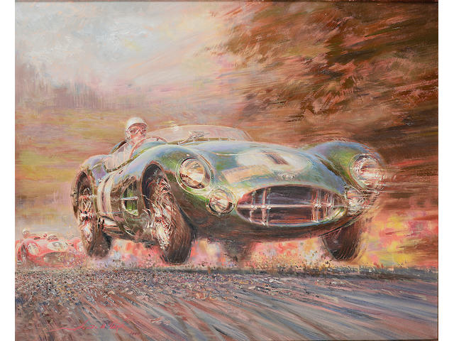Alfredo De La Maria, 'Moss in the DBR1', 1994,