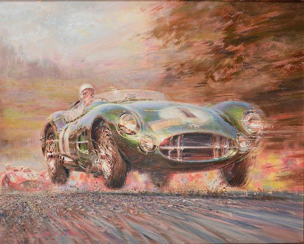 Alfredo De La Maria, 'Moss in the DBR1', 1994,