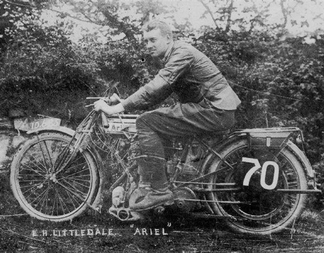 The ex-E H Littledale,1931 Ariel Square Four Motorcycle & Sidecar  Frame no. R485 Engine no. R477