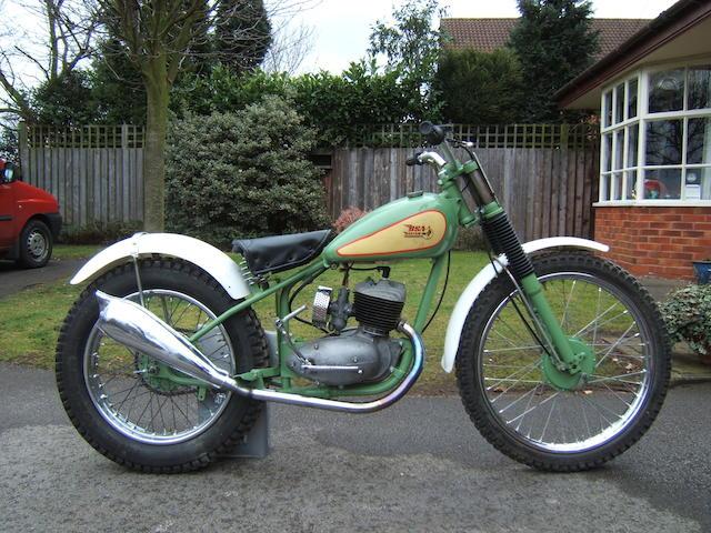 1961 BSA Bantam Trials 174cc Engine no. ED7B 28091