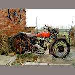1930 Montgomery Jap Light Solo 350,