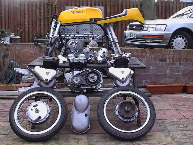 1955 Triton 650cc