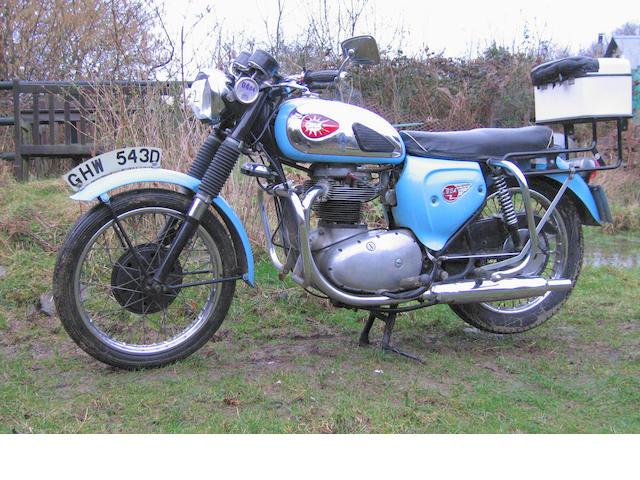 1966 BSA 654cc Thunderbolt