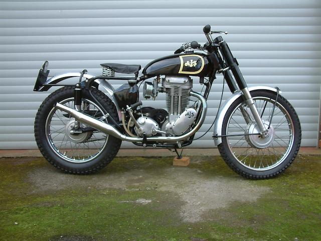 1957 AJS 348cc Model 16 Trials  Frame no. 7535CS Engine no. 57/16MS/1900C