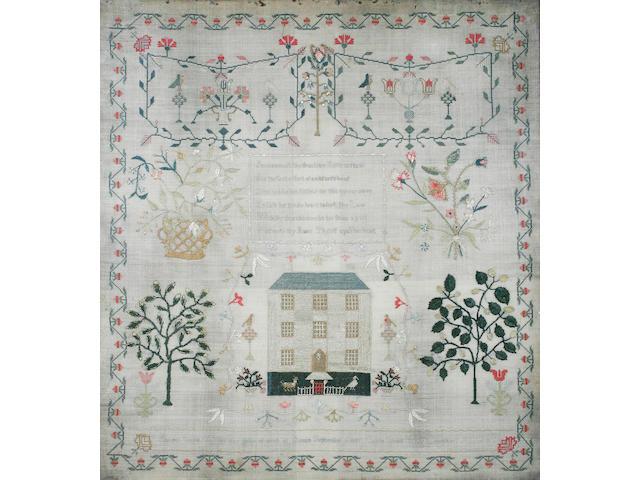 A George III sampler