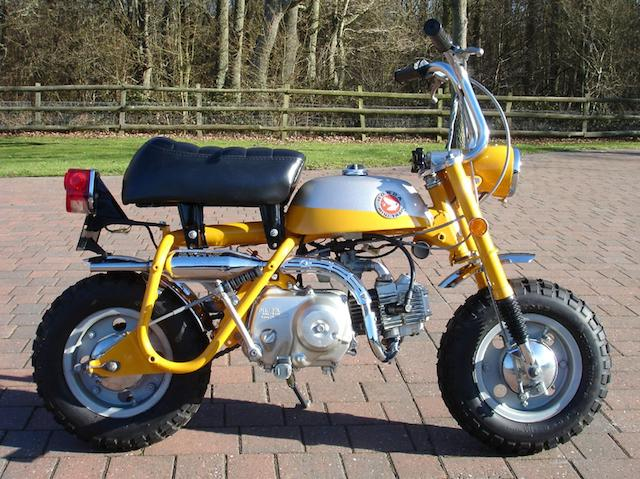 1974 Honda 49cc Z50 Mini Trail 'Monkey Bike'