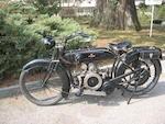 1921 Humber 4.5hp  Frame no. 3974