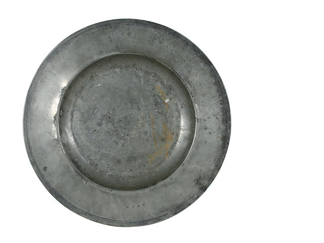 A 17th Century semi-broad rim dish