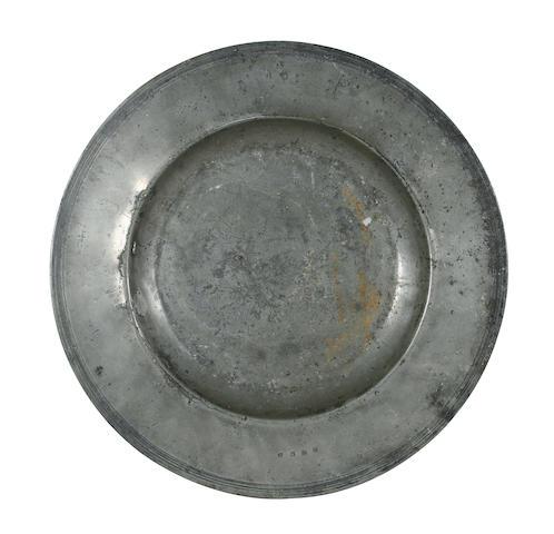 A 17th Century semi-broad rim dish