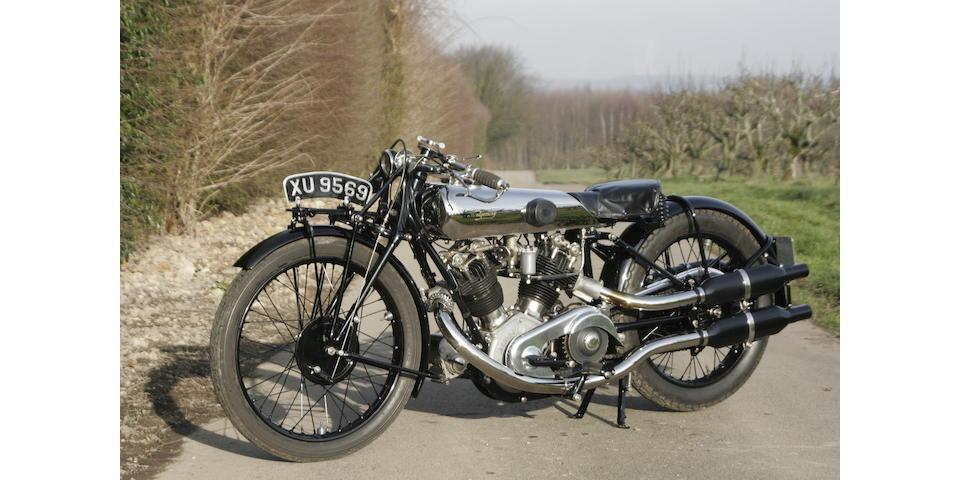 1924 Montgomery-Anzani 8/38hp V-Twin