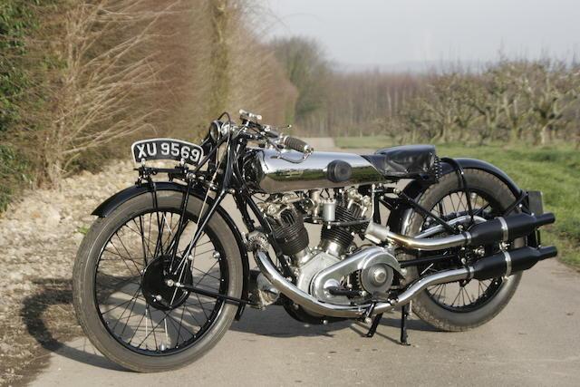 1924 Montgomery-Anzani 8/38hp V-Twin  Frame no. H463 Engine no. MC8/628