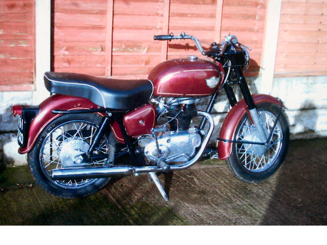 1961 Royal Enfield 248cc Crusader