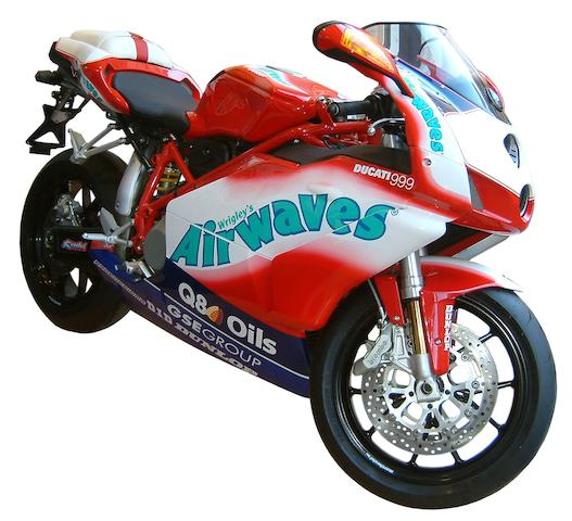 To be sold for charity,2005 Ducati 999 Biposti GSE Racing 'Airwaves'