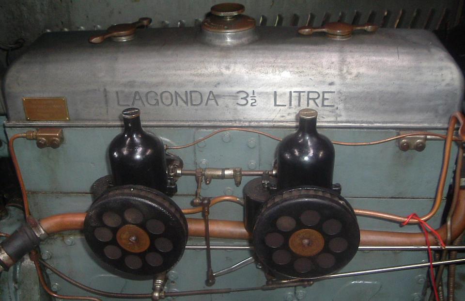 1935 Lagonda M35R Tourer  Chassis no. Z11270 Engine no. 3020