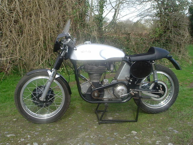 c.1960 Norton 350cc 'International'  Frame no. R4 88640 Engine no. C10T 17812